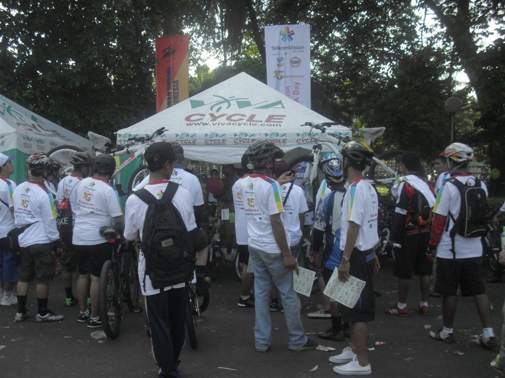 Funbike Telkom vision INDOETRA day | Sepeda Viva | Vivacycle