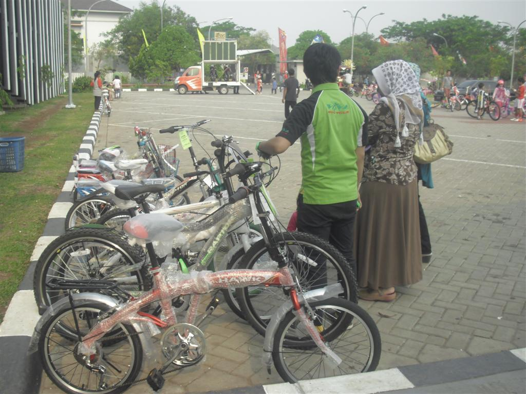 Event Ramah Tamah Grand Wisata Bekasi ( Lomba Hias Sepeda